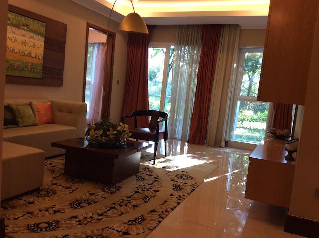 Phòng khách căn hộ 153m2-  The Link 345