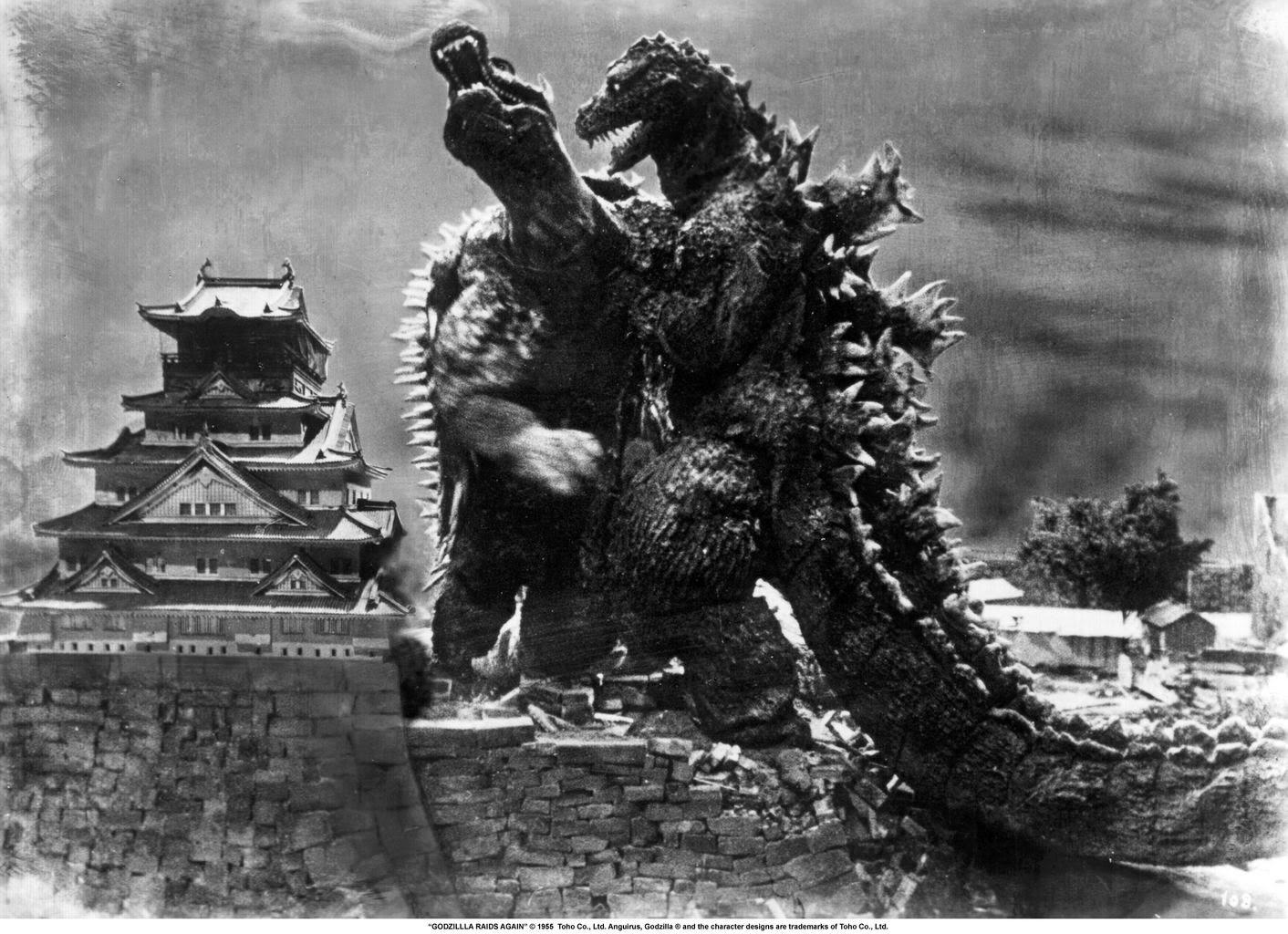 Dibujos Godzilla Raids Again 1955 Para Colorear: Gigantis The Fire Monster