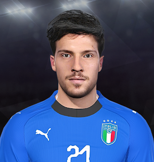 PES 2018 Faces Simone Verdi by Prince Hamiz