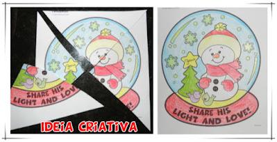 Desenhos para colorir e sugestões de jogos natalinos para Educação Infantil