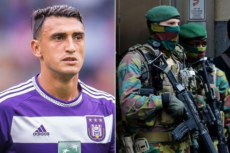 Football star quits Belgium with family after Brussels terror attack, says 'it made him fear for his life'