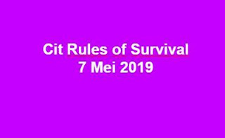 Link Download File Cheats Rules of Survival 7 Mei 2019