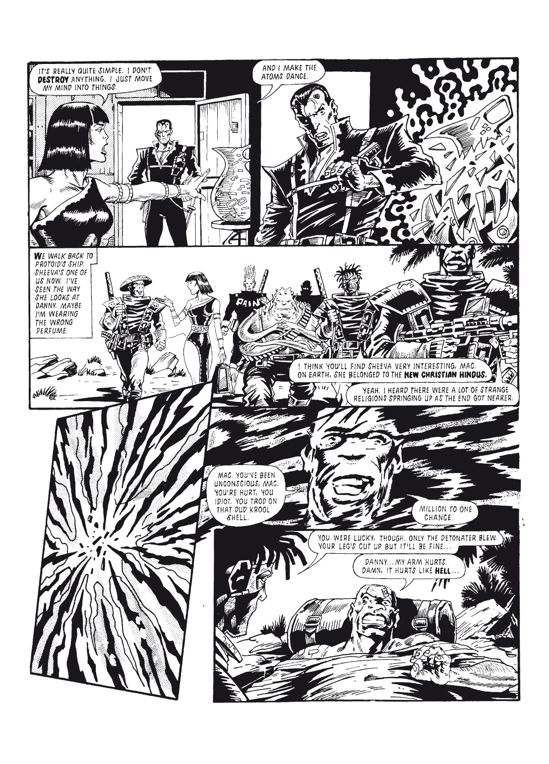 Read online The Complete Bad Company comic -  Issue # TPB - 153