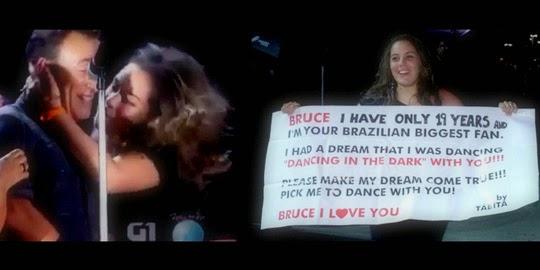 Bruce Springsteen escolhe baiana de 19 anos que fez faixa pedindo pra dançar Dancing in The Dark.