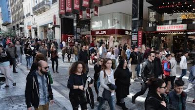 Αυξήθηκε στο 54,1% από 53,8% η απασχόληση