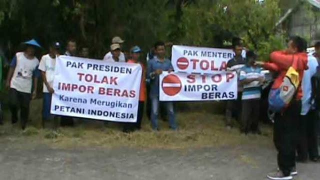 Impor Beras Bukti Jokowi Gagal Muliakan Petani