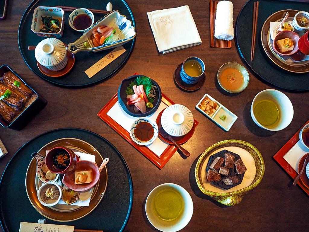 Yorokobi Kaiseki lunch set
