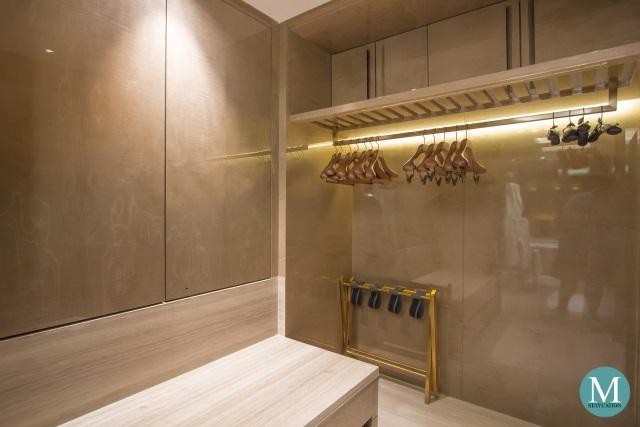 closet of the Junior Suite at Four Seasons Hotel Kuala Lumpur