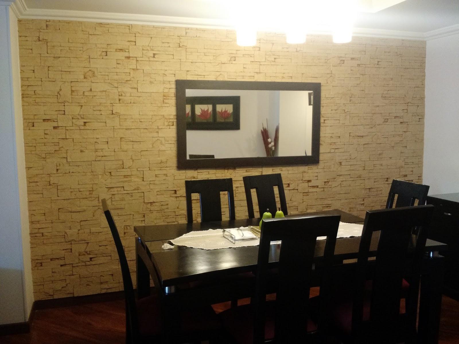 Panel decorativo poling laja dagua marfil pared interior - Pared interior de piedra ...