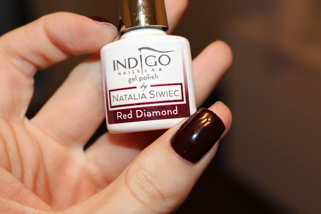 Indigo Red Diamond by Natalia Siwiec