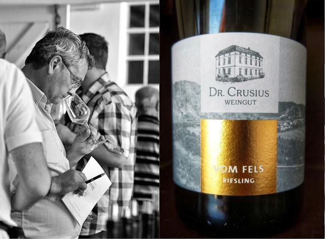 Jahrgangspräsentation im Weingut Dr. Crusius in Traisen an der Nahe.