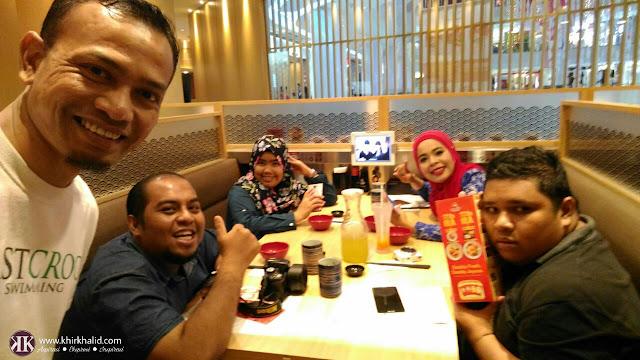 Blogger Malaysia, Maha Mahu, Rafzan, Iena eliena, Sushi King,
