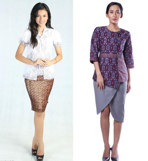 model baju songket wanita