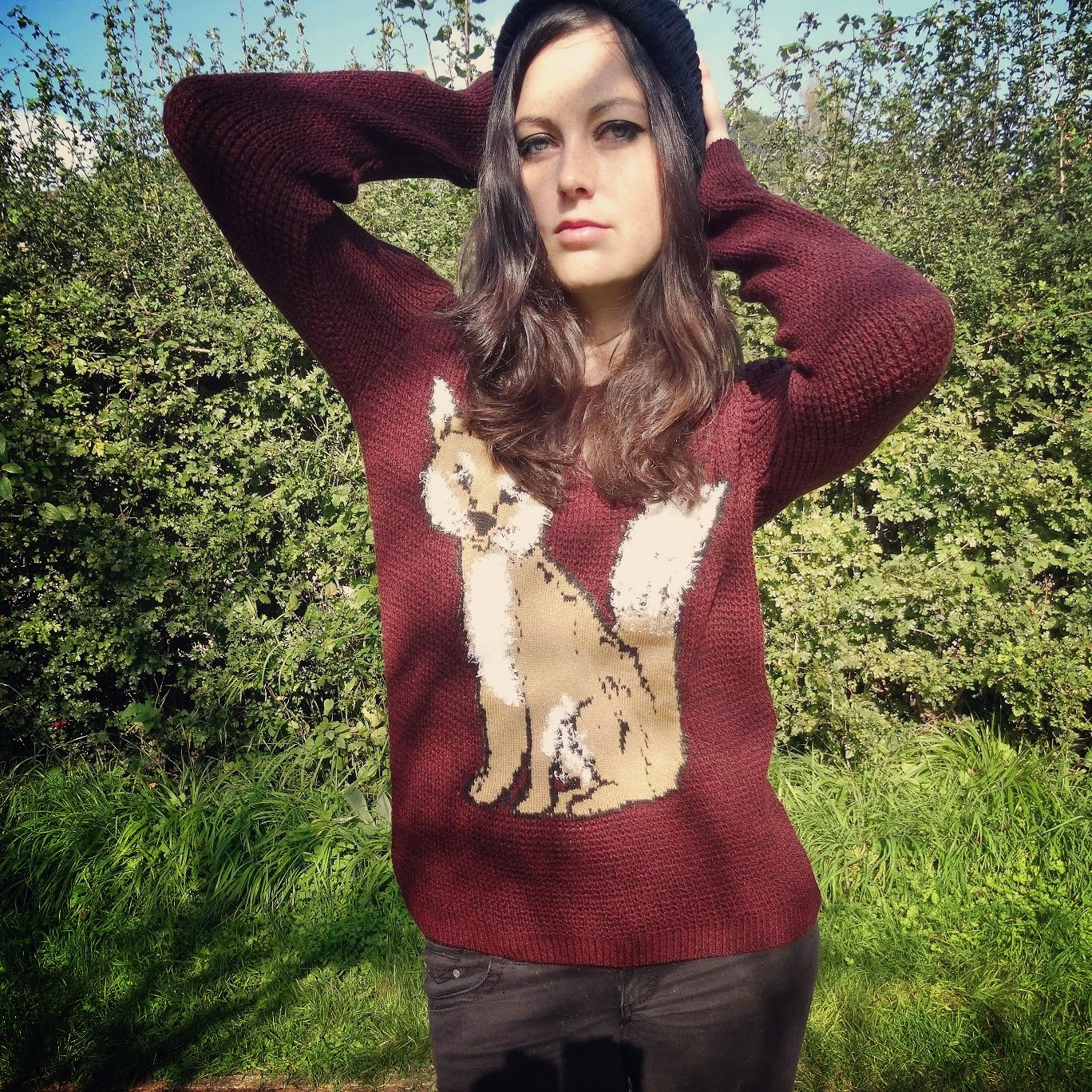 ASDA Fox Jumper autumn