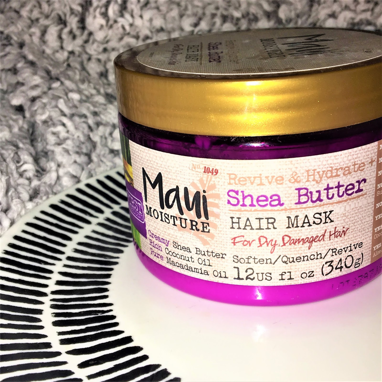 Maui Moisture Revive & Hydrate Shea Butter Hair Mask