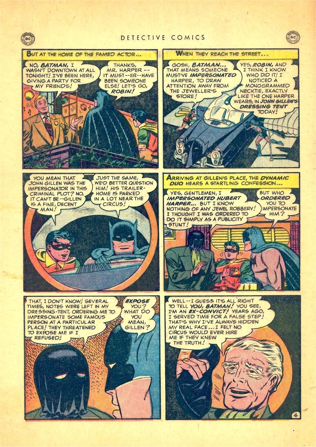 Read online Detective Comics (1937) comic -  Issue #166 - 6