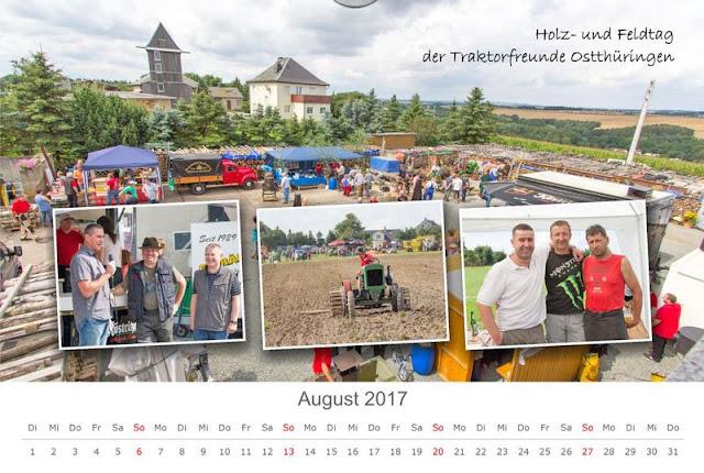 Kalenderbild August 2017