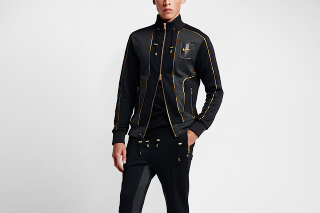N98 masculina NikeLab X Olivier Rousteing Football Nouveau