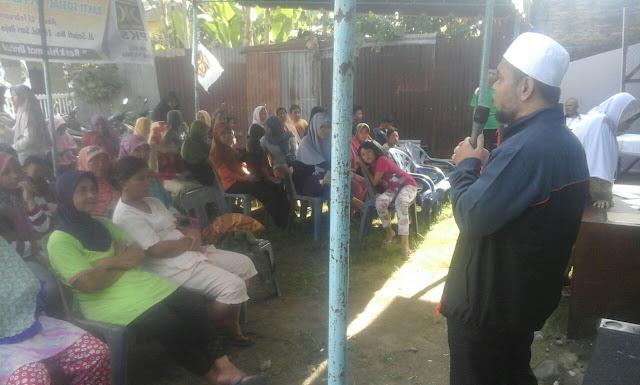 Tempati Kantor Baru, PKS Medan Polonia Laksanakan Bakti Sosial