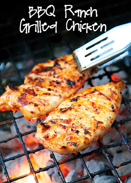grilled bbq ranch chicken