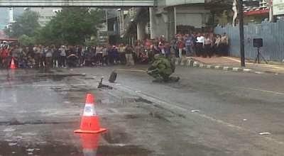 Aneh, Simulasi Pengamanan Pemilu di TPS Justru Diabaikan! - Simulasi Pengamanan Pemilu 2014