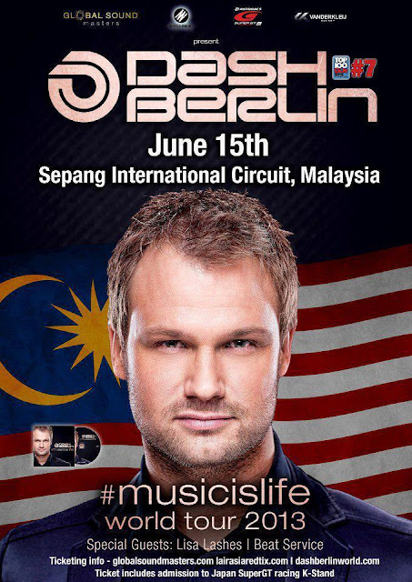 Dash Berlin #Musicislife World Tour 2013