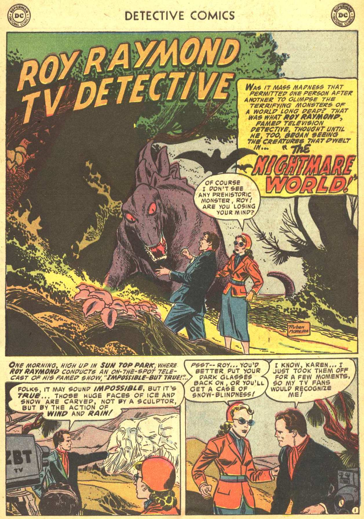 Read online Detective Comics (1937) comic -  Issue #206 - 32