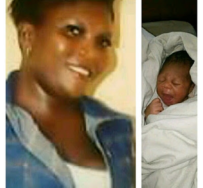 Lady GGives Birth At A Market In Delta, Abandons Her To Die
