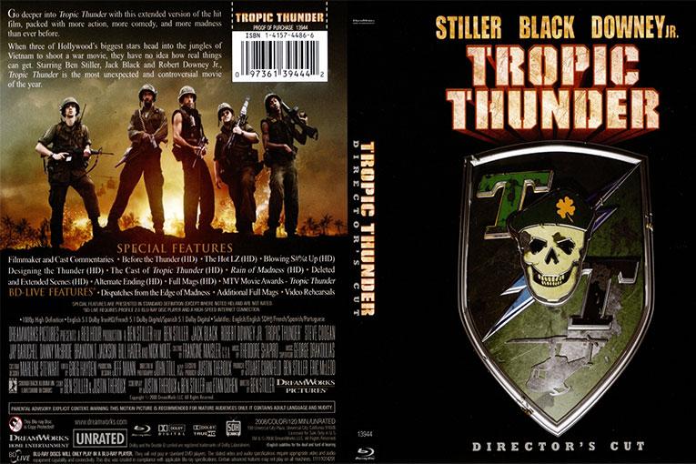 Tropic Thunder (2008) 720p BrRip [Dual Audio] [Hindi+English]