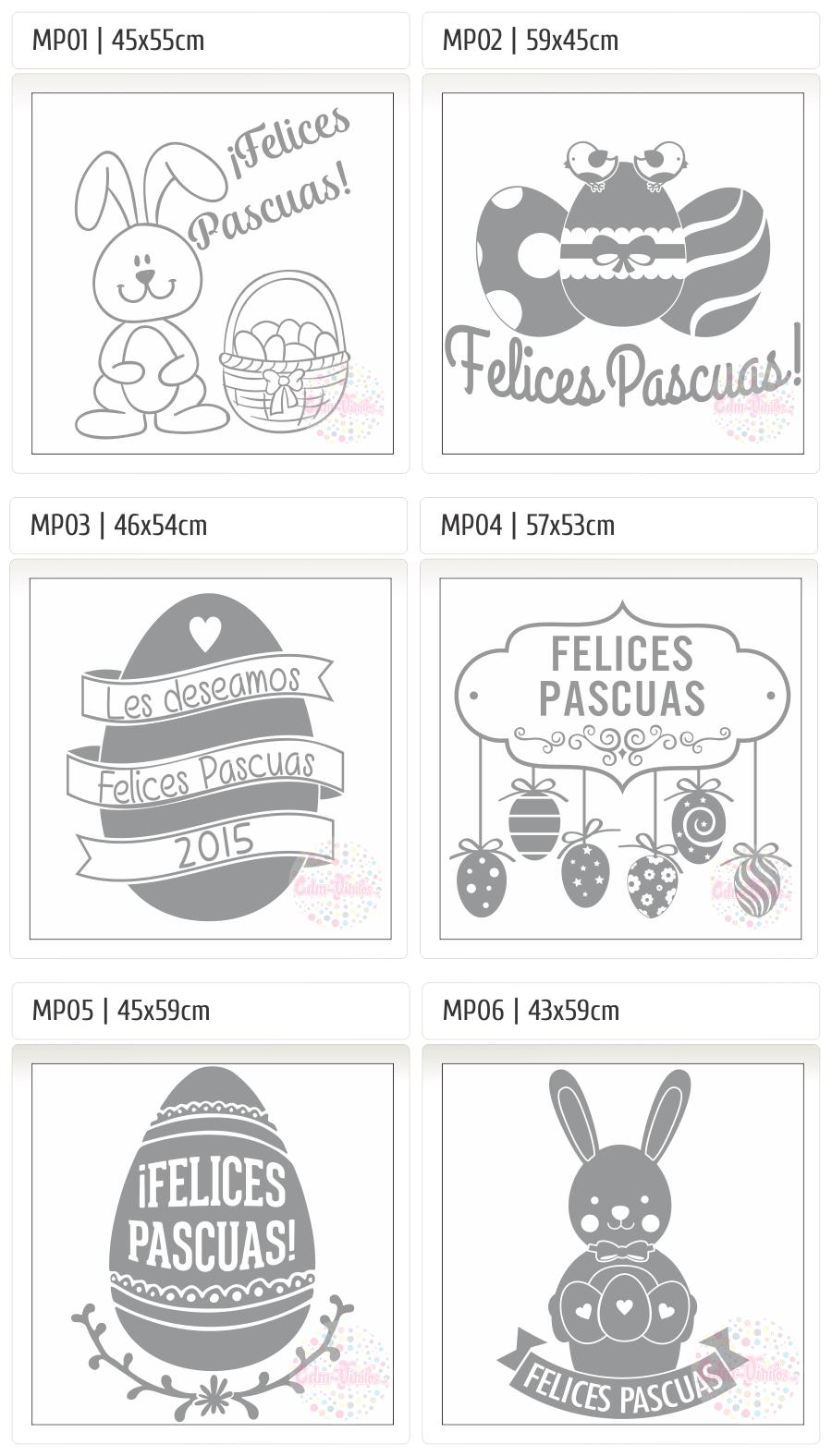 cdm-vinilos Carteles, Pascuas 2014, Vidrieras, vinilos decorativos