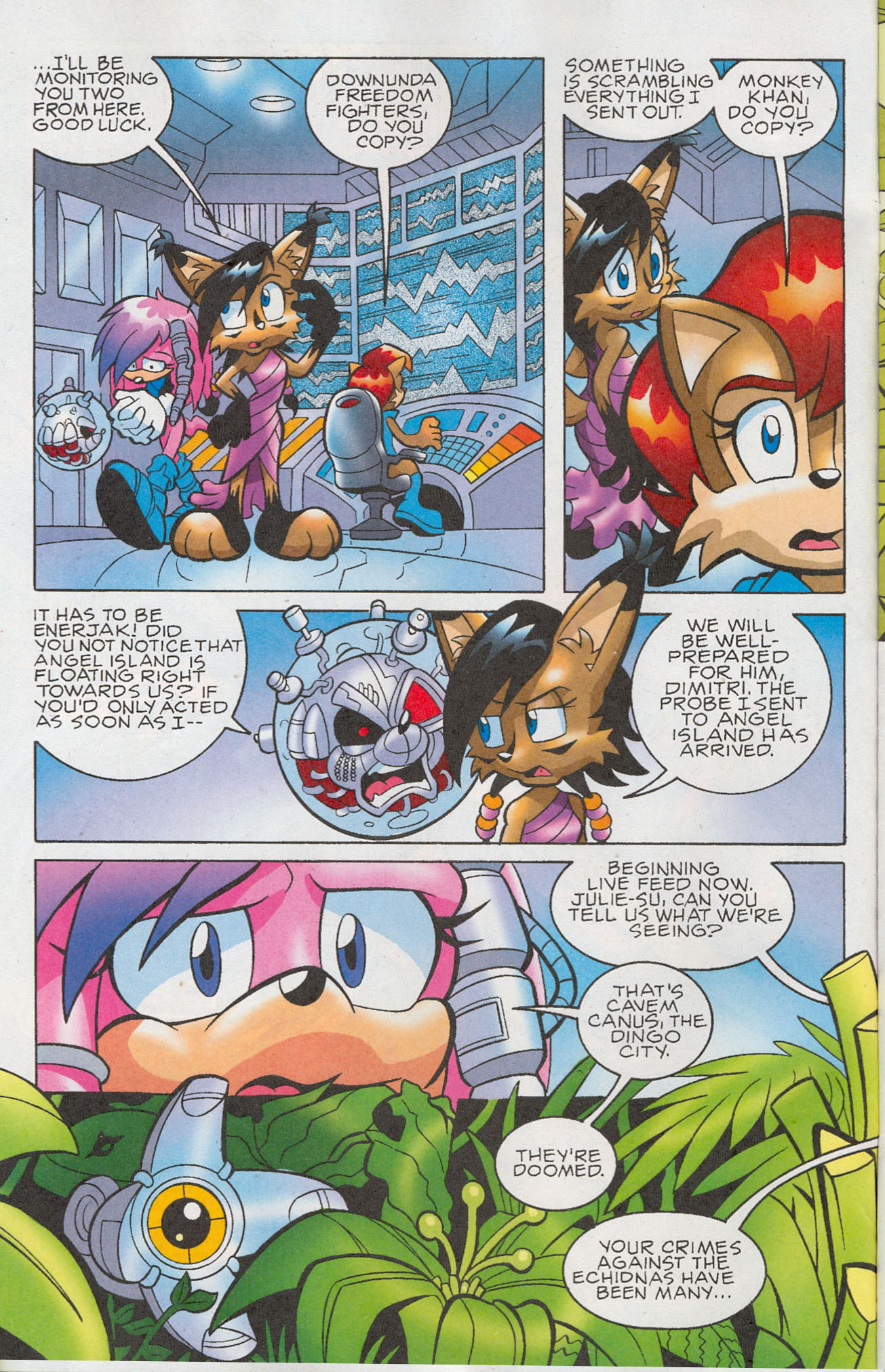 Read online Sonic The Hedgehog comic -  Issue #181 - 3
