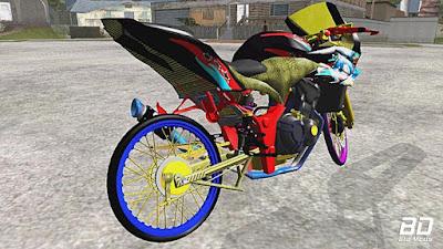Download mod Bike Kawasaki Ninja 250R Karbu Thailook para GTA San Andreas , GTA SA Game Pc