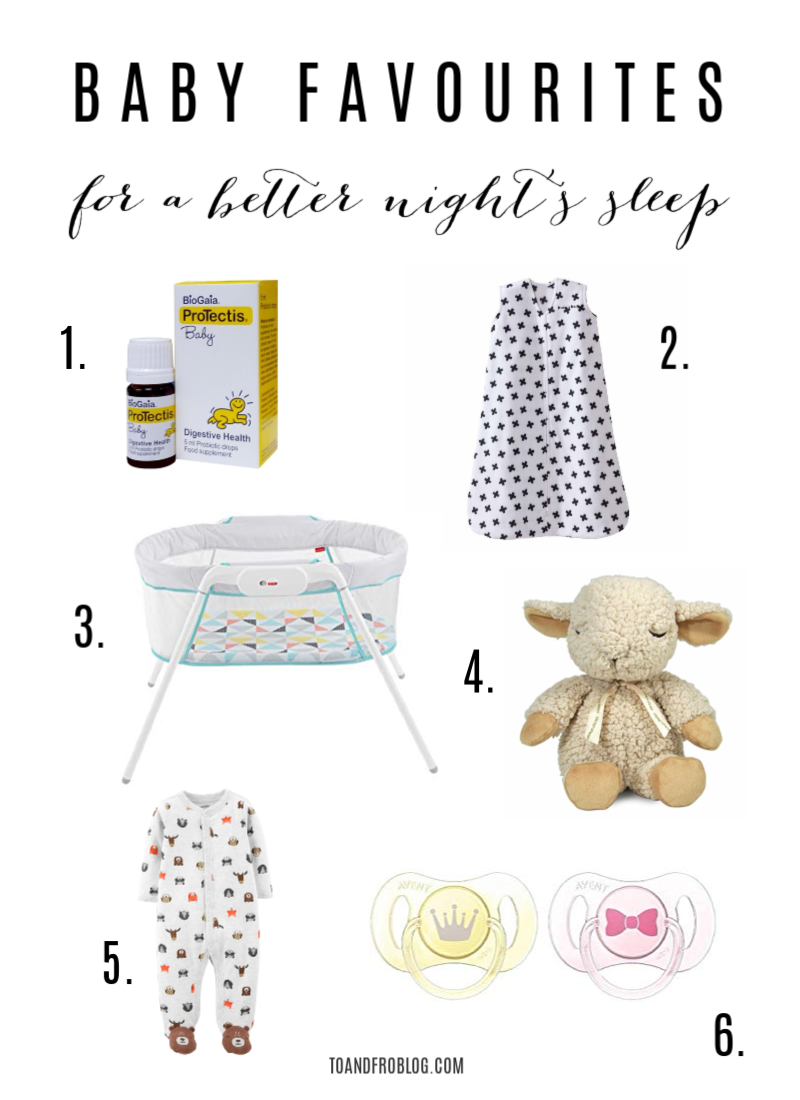 Baby Products for a Better Night's Sleep