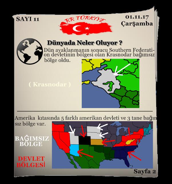 Rival Regions Türkiye 11.sayısı