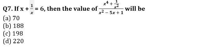 Algebra Questions for SSC CGL TIER-2 , SSC Stenographer & IB (ACIO) 2017_180.1