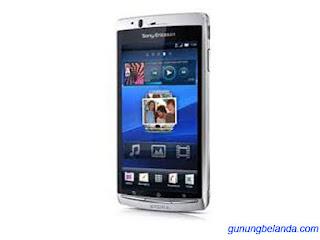 Cara Flashing Sony Ericsson Xperia arc S LT18i