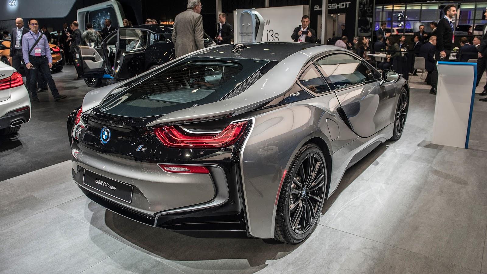 Automotiveblogz Bmw I8 Coupe Detroit 2018