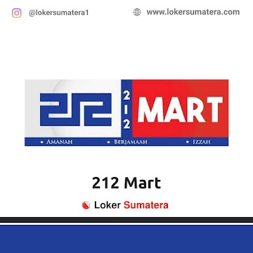 Lowongan Kerja Palembang: Gerai 212 Mart Oktober 2020