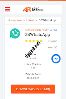 Download Latest GBWhatsapp GBWA v5.90 Apk For Android With Updated Features.