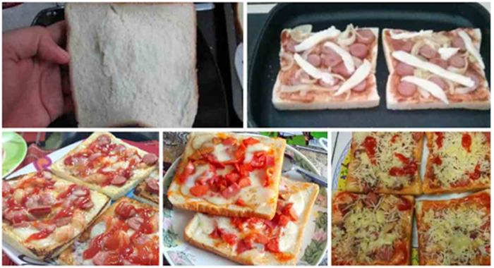 resep pizza roti tawar istimewa praktis no ribet cocok