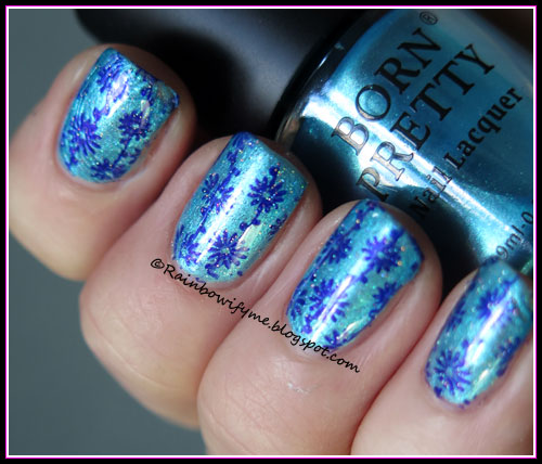 Born Pretty Starry Sky nail polish #049
