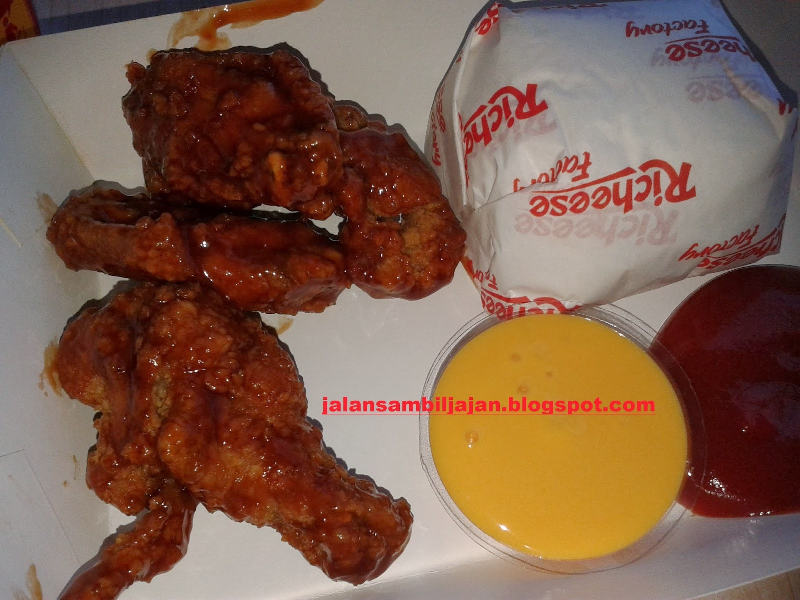 Combo 5 Chicken Fire Wings Fruit Lava Richeese Factory