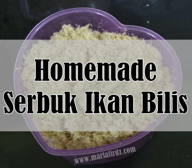Homemade Serbuk Ikan Bilis