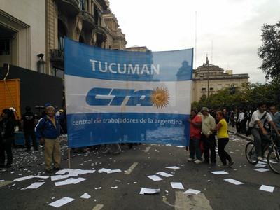 La CTA Autónoma Tucumán repudia la intervención a la FEIA
