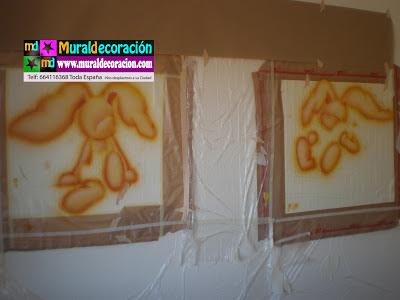 Realización y preparado de mural infantil