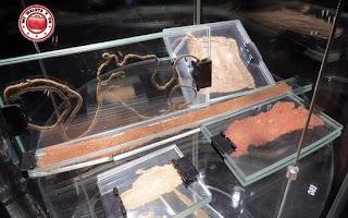 Vitrinas del Museo Histórico de Cracovia, Polonia