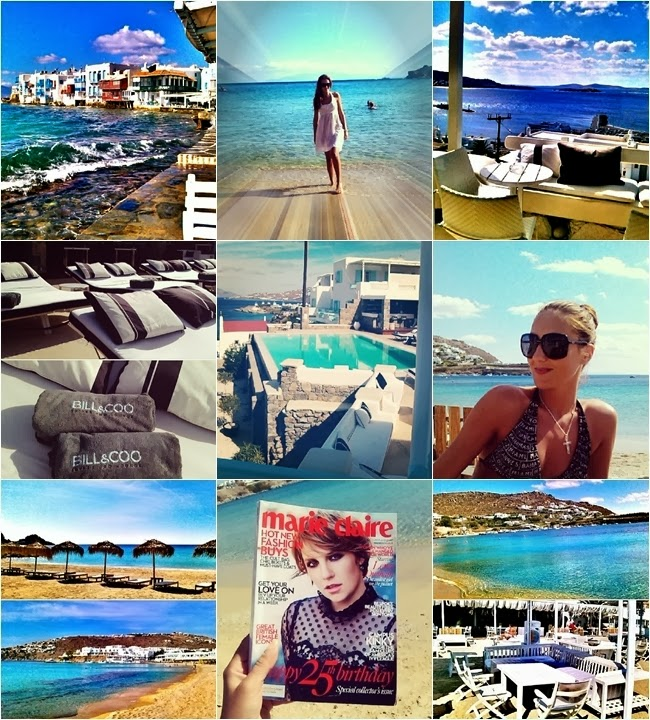 Mykonos island vacation