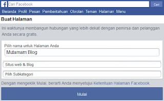 Cara Membuat Halaman (Fan Page) Facebook