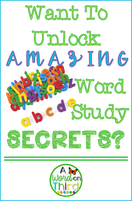 Want To Unlock Amazing Word Study Secrets? by A Word On Third