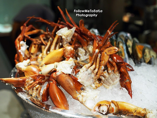 Poached Crabs